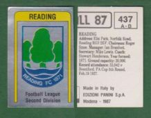 Reading Badge 437